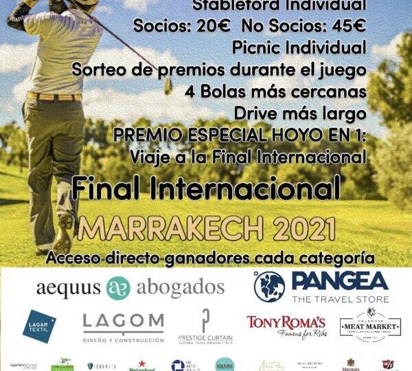 Cartel torneo YOINGOLF - MARZO 2021